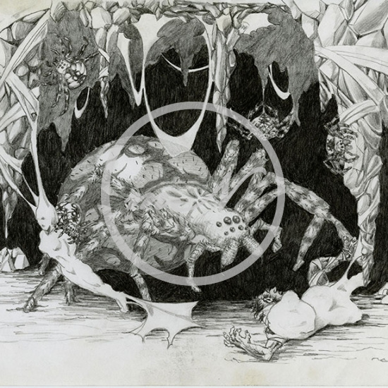 Artwork: Spider Attack